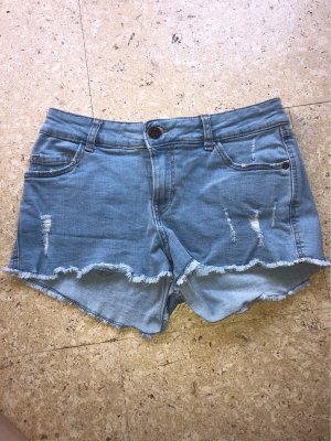 Blaue Hot Pants