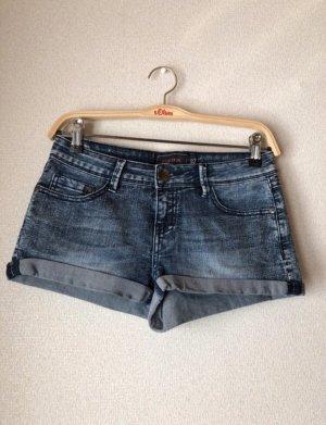 Eight2Nine Hot pants blu-blu fiordaliso