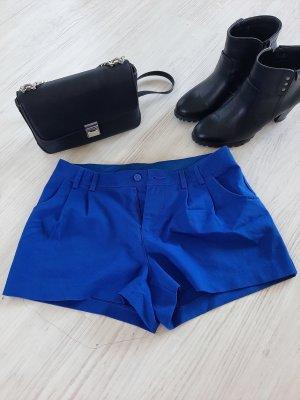 blaue Hotpants / shorts