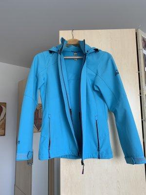 Blaue Jacke Übergangsjacke