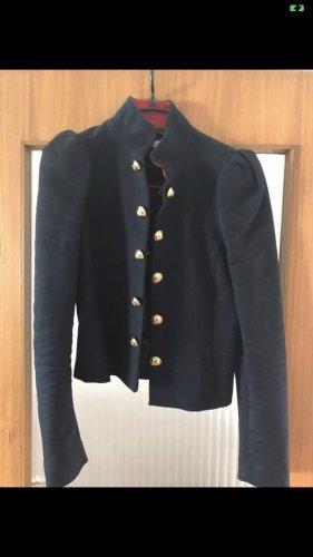 Blaue Jacke von Mango