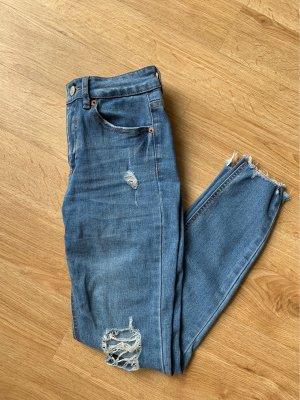 Pull & Bear Vaquero skinny azul
