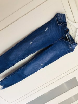 Tally Weijl Hoge taille jeans blauw-donkerblauw
