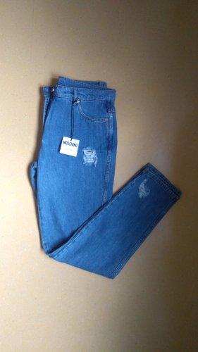 Blaue Jeans Destroyed Look  Moschino 42