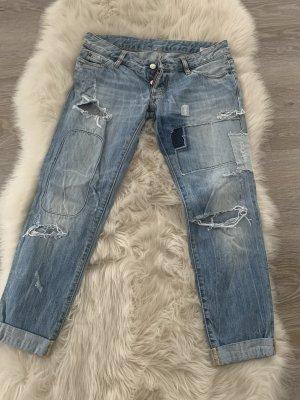 Dsquared2 Boyfriend Jeans multicolored