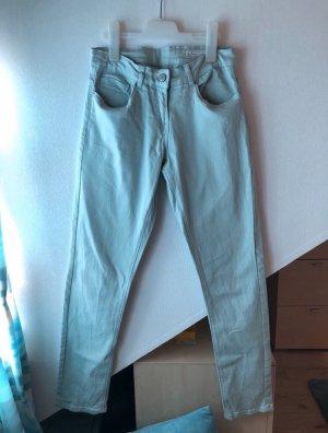 Blue Motion Pantalone a sigaretta multicolore