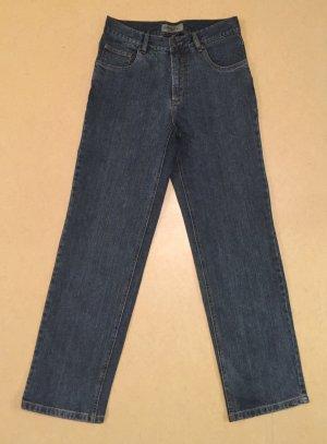 blaue Jeans Hose, Slim Fit, high waist, Gr. 40