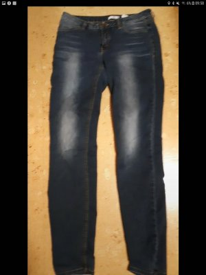AJC Jeans coupe-droite bleu