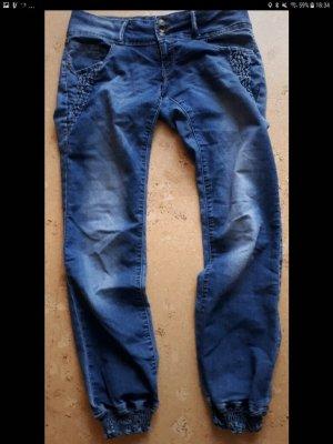 Tally Weijl Jeans baggy bleu