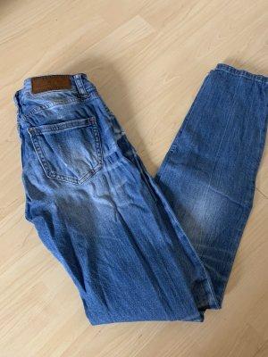 Amisu Boyfriend jeans korenblauw-blauw