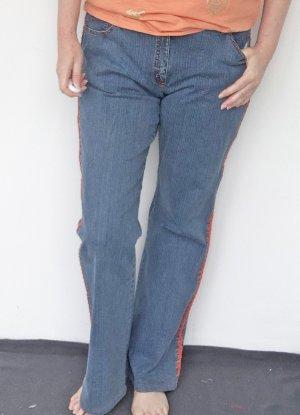Ambiente Jeans flare bleuet coton