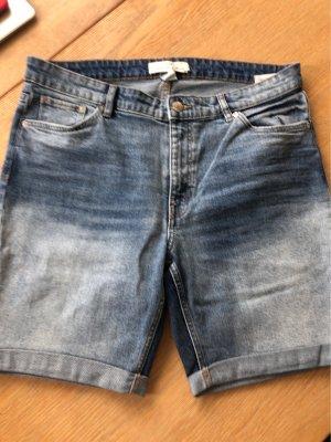 H&M L.O.G.G. Pantaloncino di jeans azzurro