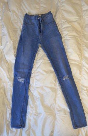 Blaue jeans/strechy jeans/ high waist jeans