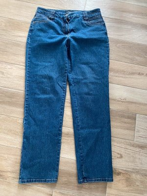 Bexleys Stretch Jeans steel blue-blue cotton