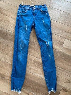 Blaue Jeans von Denim Co, Gr. 34