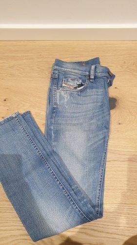 Blaue Jeans von Diesel in Größe 25