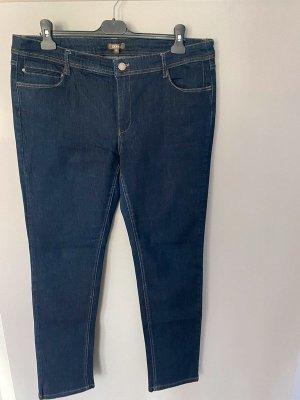 GDM Jeans cigarette bleu coton
