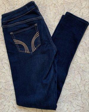 Hollister Jeans taille basse bleu-bleu foncé