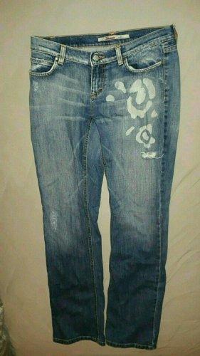 Blaue Jeans von Only mit Print