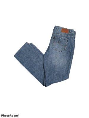 s.Oliver Jeansy z prostymi nogawkami stalowy niebieski