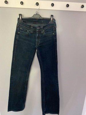 Blaue Jeans von Schuhmacher Jeans, Gr. XS