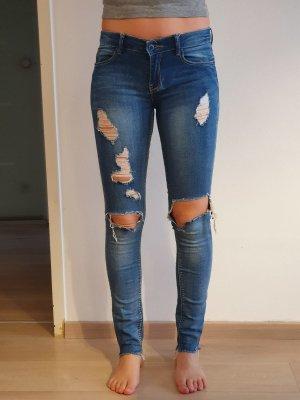 Blaue Jeans von Stradivarius
