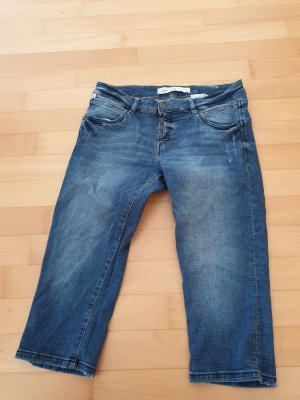 QS by s.Oliver 3/4 Length Jeans blue-steel blue