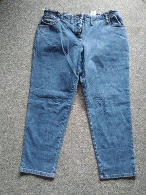Blaue Jeanshose von John Baner in Größe 48