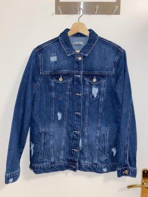 Defacto Denim Jacket blue-dark blue