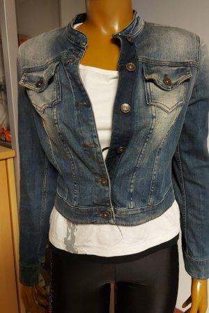 blaue Jeansjacke Größe 36
