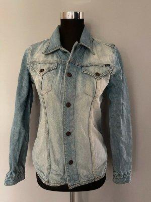 Blaue Jeansjacke / Jacke von Earl Jean, Gr. L
