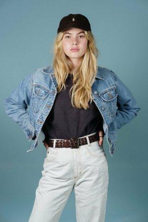 Blaue Jeansjacke S
