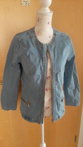 Blaue Jeansjacke von Collection L Gr. 40
