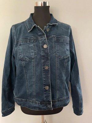 Blaue Jeansjacke von Zizzi, Gr. M