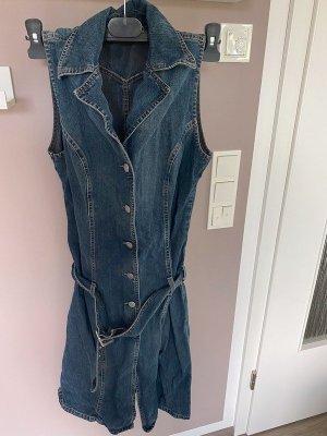 Blaue Jeanskleid / Kleid von Sisley, Gr. M