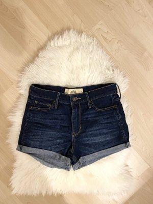 Blaue Jeansshorts Hollister
