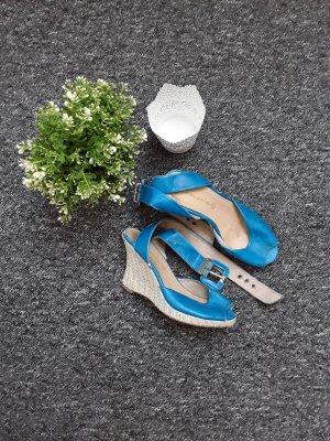 Blaue Keilabsatzschuhe von Tamaris