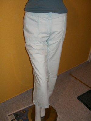 Pantalone Capri azzurro Cotone