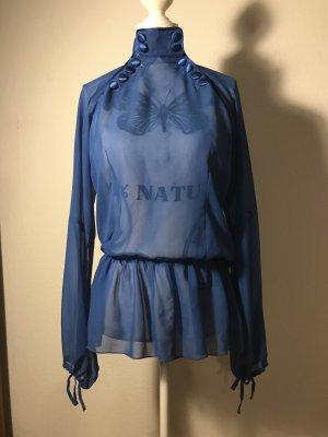 Blaue leichte Bluse