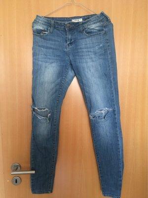 cello jeans Jeans taille basse bleu