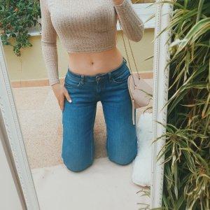 Active Touch Jeans vita bassa multicolore Cotone