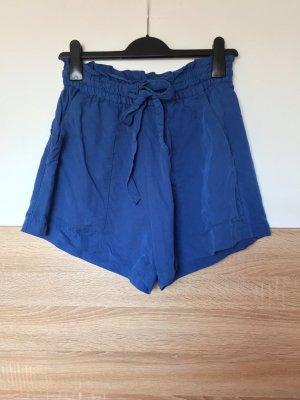H&M Pantalón corto de talle alto multicolor lyocell