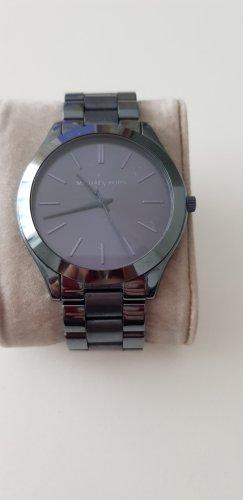 Blaue Michael Kors Uhr MK3419