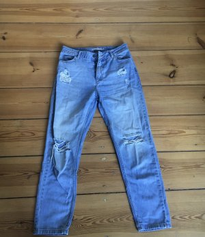 blaue Minimum Jeans