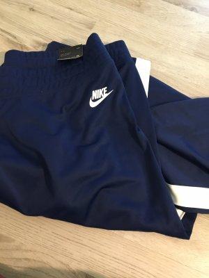 Blaue Nike Jogginghose