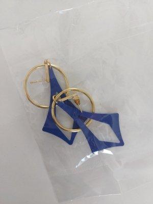 @ngy Six Orecchino d'oro oro-blu