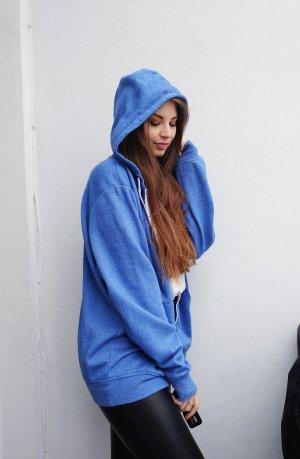 Sweat Jacket neon blue