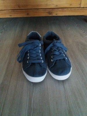 Blaue Pepe Jeans London Sneaker