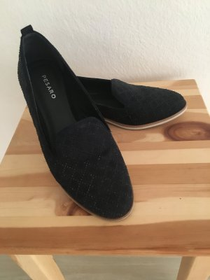 Blaue Pesaro Schuhe Damen Gr. 39