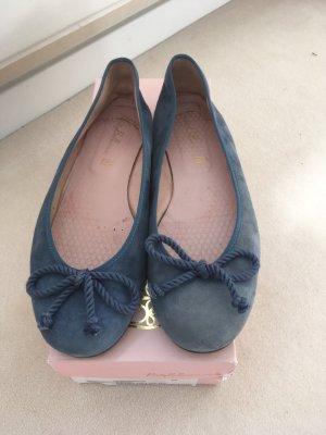Blaue Pretty Ballerinas in Größe 39
